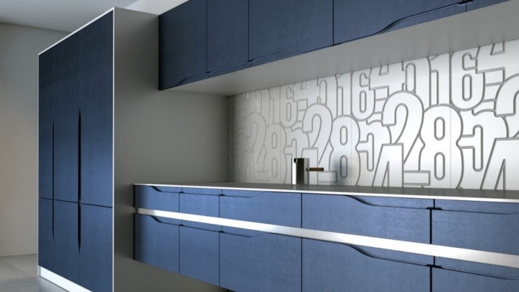 IKEA Faktum with integrated handles