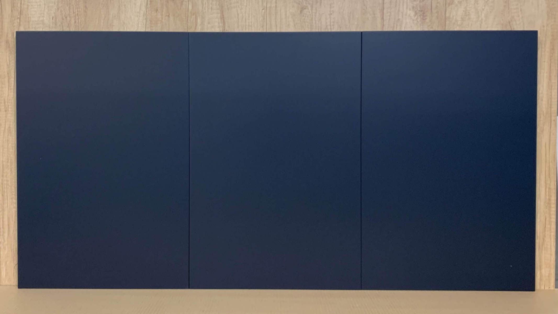 New kitchen cabinet doors for IKEA Faktum & Metod in the lovely Indigo Blue colour