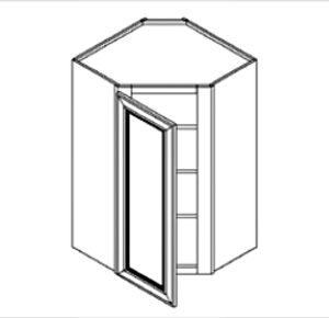 Wall Corner Cabinet for IKEA Faktum kitchens