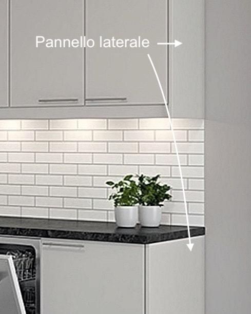 Pannelli laterali por IKEA Faktum