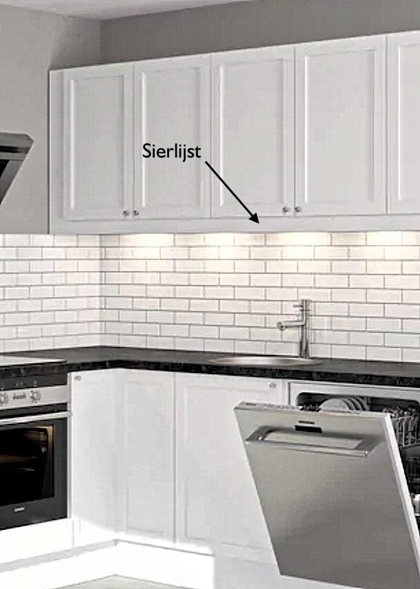 Sierlijst voor IKEA Faktum keukens